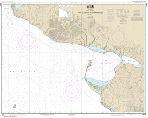 Buy map Port Clarence and approaches (16204-7) by NOAA