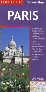 Buy map Paris, France Travel Map by New Holland Publishers