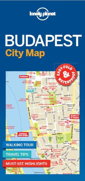 Buy map Budapest City Map by Lonely Planet Publications