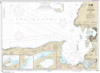 Buy map St. Marys River to Au Sable Point; Whitefish Point; Little Lake Harbors; Grand Marais Harbor (14962-21) by NOAA