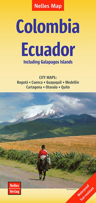 Buy map Colombia and Ecuador by Nelles Verlag GmbH