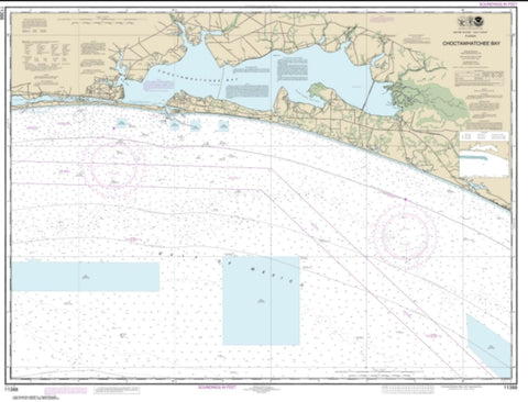 Buy map Choctawhatchee Bay (11388-18) by NOAA
