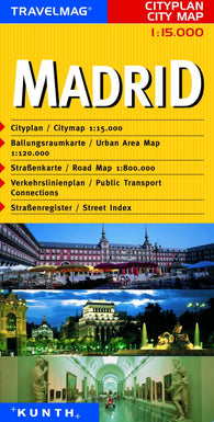 Buy map Madrid, Spain by Kunth Verlag