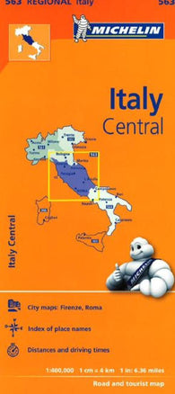 Buy map Italy, Central (563) by Michelin Maps and Guides
