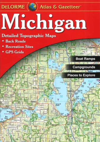 Buy map Michigan Atlas and Gazetteer by DeLorme