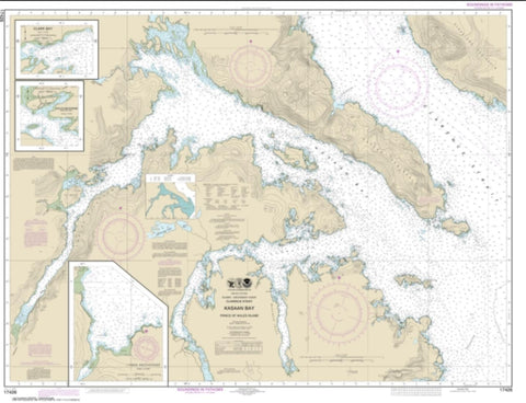 Buy map Kasaan Bay, Clarence Strait; Hollis Anchorage, eastern part; Lyman Anchorage (17426-16) by NOAA