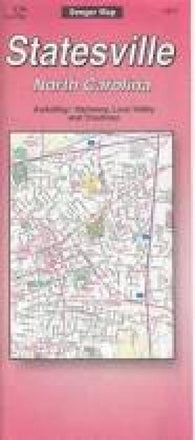 Buy map Statesville, North Carolina by The Seeger Map Company Inc.
