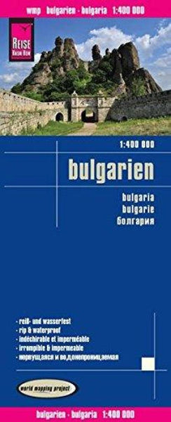 Buy map Bulgaria by Reise Know-How Verlag