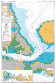 Buy map AUCKLAND HARBOUR EAST (5322) by Land Information New Zealand (LINZ)