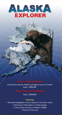 Buy map Alaska Explorer Map by Ocean Explorer Maps