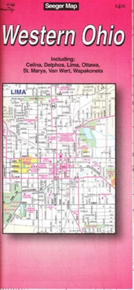 Buy map Western Ohio by The Seeger Map Company Inc.