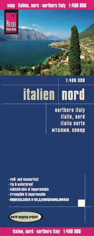 Buy map Italy, Northern by Reise Know-How Verlag