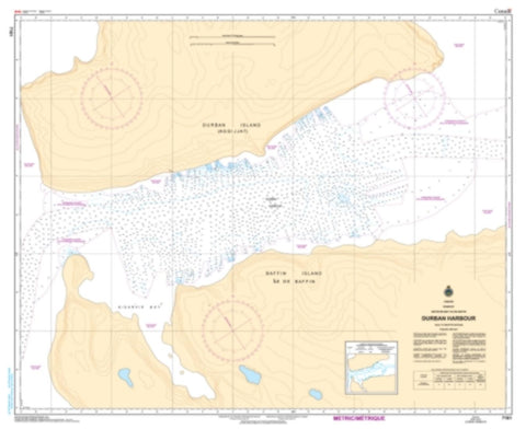 Buy map Durban Harbour by Canadian Hydrographic Service