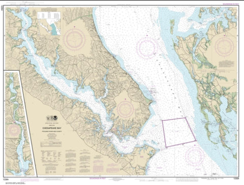 Buy map Chesapeake Bay Patuxent River and Vicinity (12264-32) by NOAA