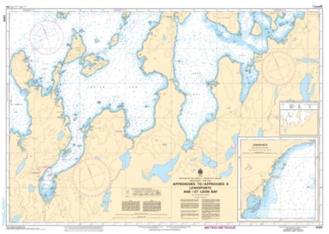 Buy map Approaches to/Approches a Lewisporte and/et Loon Bay by Canadian Hydrographic Service