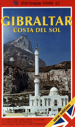 Buy map Gibraltar and Costa del Sol, Spain by Distrimapas Telstar, S.L.
