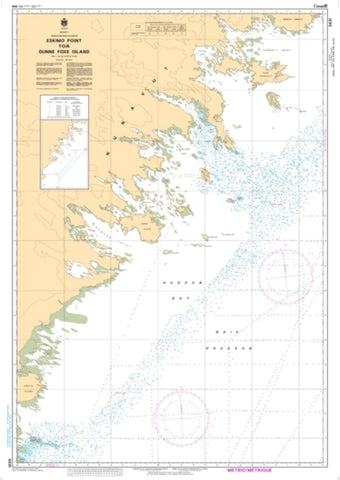 Buy map Eskimo Point to Dunne Foxe Island by Canadian Hydrographic Service