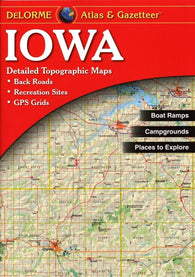 Buy map Iowa, Atlas and Gazetteer by DeLorme