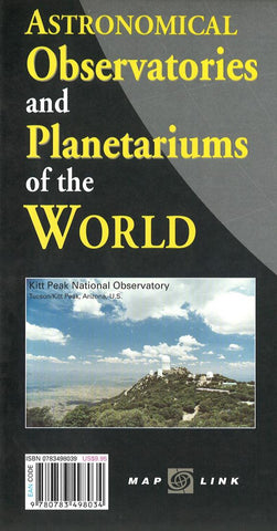 Buy map World Astronomical Observatories & Planetariums by Map Link