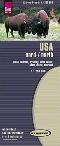 Buy map United States, Northern by Reise Know-How Verlag