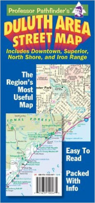 Buy map Duluth, Minnesota and Superior, Wisconsin by Hedberg Maps