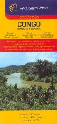 Buy map Congo by Cartographia