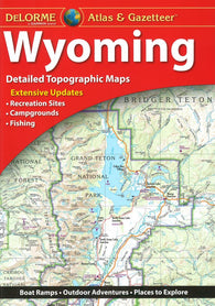 Buy map Wyoming Atlas and Gazetteer by DeLorme