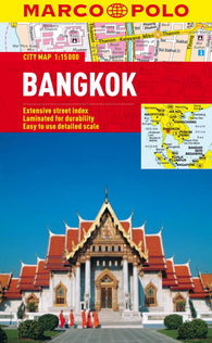 Buy map Bangkok, Thailand by Marco Polo Travel Publishing Ltd