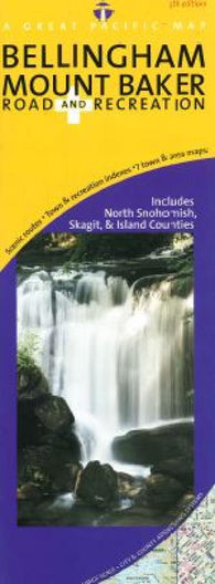 Buy map Bellingham, Washington and Mount Baker, Road and Recreation by Great Pacific Recreation & Travel Maps