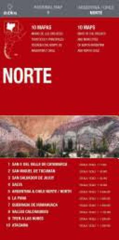 Buy map Argentina and Northern Chile by deDios