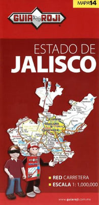 Buy map Jalisco, Mexico, State Map by Guia Roji