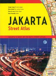 Buy map Jakarta, Indonesia, Street Directory by Periplus Editions