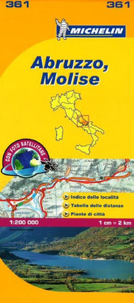 Buy map Abruzzo and Molise, Italy (361) by Michelin Maps and Guides