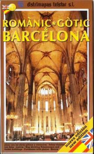 Buy map Barcelona, Gothic & Romantic Architecture by Distrimapas Telstar, S.L.