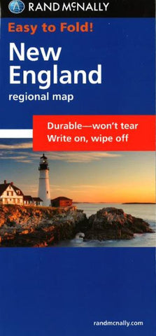 Buy map New England, Easy to Fold by Rand McNally