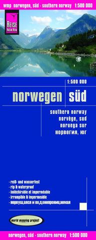 Buy map Norway, Southern by Reise Know-How Verlag