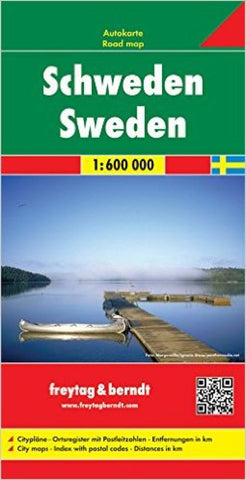 Buy map Sweden by Freytag-Berndt und Artaria