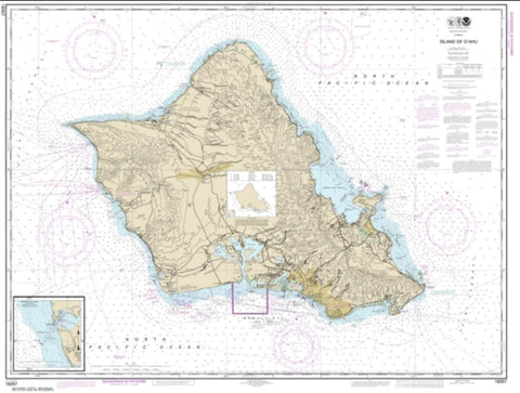 Buy map Island of O'ahu; Barbers Point Harbor (19357-25) by NOAA