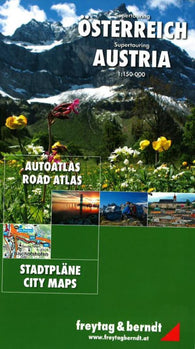 Buy map Austria, Supertouring Road Atlas by Freytag-Berndt und Artaria