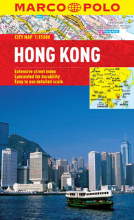 Buy map Hong Kong by Marco Polo Travel Publishing Ltd