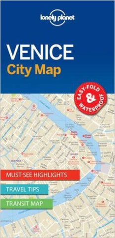 Buy map Venice, Italy City Map by Lonely Planet Publications