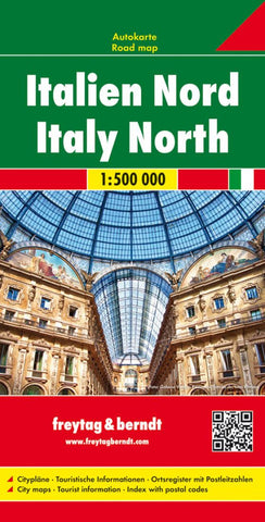 Buy map Italy, North by Freytag-Berndt und Artaria