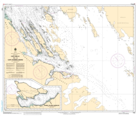 Buy map Cape Mills to/a Cape Rammelsberg by Canadian Hydrographic Service
