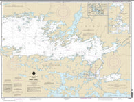 Buy map Rainy Lake-Big Island, Minn., to Oakpoint Island, Ont.; Kettle Falls (14996-15) by NOAA