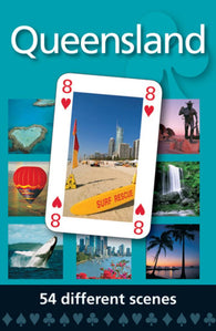 Buy map Queensland, Australia, playing cards by Hema Maps