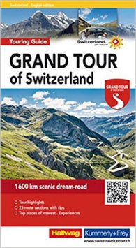 Buy map Grand Tour of Switzerland Travel Guide (English Edition) by Hallwag