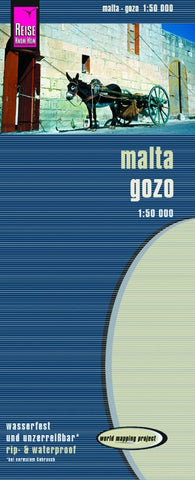 Buy map Malta and Gozo by Reise Know-How Verlag