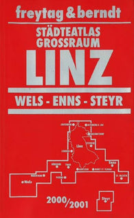 Buy map Linz, Wels, Enns and Steyr, Austria, Atlas by Freytag-Berndt und Artaria