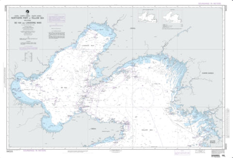 Buy map Northern Part Of Yellow Sea (NGA-94033-6) by National Geospatial-Intelligence Agency