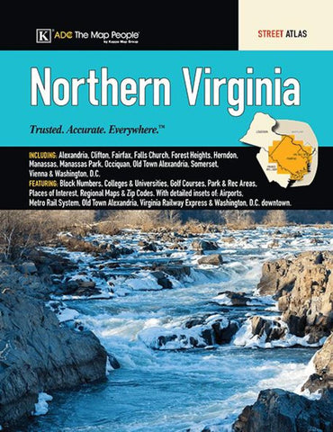 Buy map Virginia, Northern, Street Atlas by Kappa Map Group